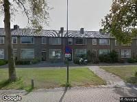 112 melding Brandweer naar Prof. Nolenslaan in Waalwijk vanwege letsel