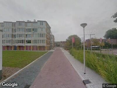 Ambulance naar John Mottstraat in Gouda