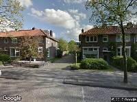 Brandweer naar Fonteinstraat in Leeuwarden