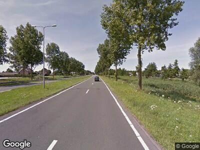 Ambulance naar Kruisweg in Cruquius vanwege ongeval met letsel