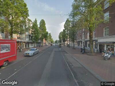 Ambulance naar Commelinstraat in Amsterdam