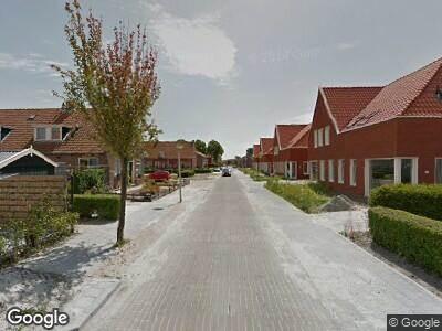 Brandweer naar Jogchum Nieuwenhuisstrjitte in Grou vanwege brand