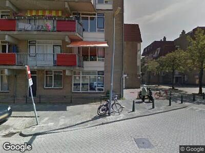 Ambulance naar Generaal van der Heijdenstraat in Rotterdam