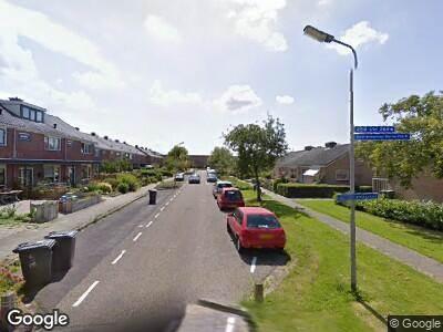 Ambulance naar Graaf Willemstraat in Grootebroek