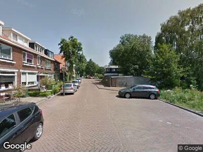 Ambulance naar Wester Hordijk in Rotterdam