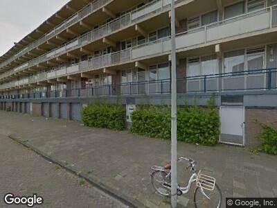Ambulance naar Banne Buikslootlaan in Amsterdam