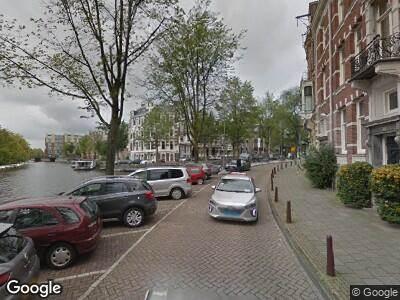 Ambulance naar Leidsekade in Amsterdam