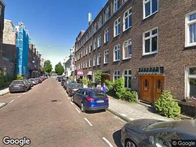 Ambulance naar Jan Willem Brouwersstraat in Amsterdam