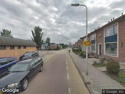 Ambulance naar Schoolstraat in Bergambacht