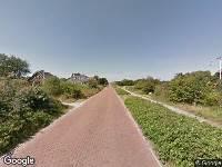 112 melding Brandweer naar Badweg in Schiermonnikoog