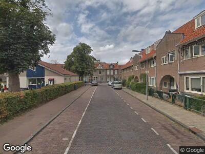 Ambulance naar Brouwersplein in Haarlem
