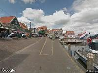 112 melding Ambulance naar Haven in Volendam
