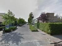 112 melding Besteld ambulance vervoer naar Heerma van Vossstraat in Roosendaal