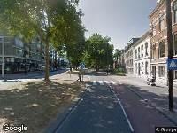 Ambulance naar Johan de Wittstraat in Dordrecht