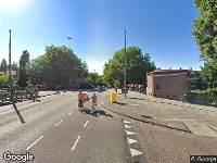 Ambulance naar Olympiakade in Amsterdam