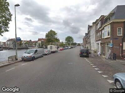 Brandweer naar Donkere Spaarne in Haarlem vanwege reanimatie