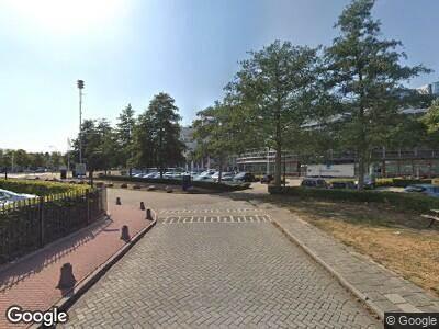 Brandweer naar Toekanweg in Haarlem vanwege verkeersongeval