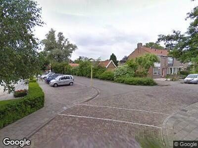 Ambulance naar Sint Josephpark in Blokker