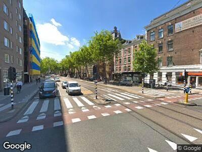 Politie naar Amsteldijk in Amsterdam vanwege ongeval met letsel