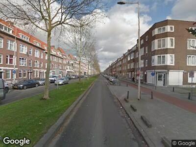 Ambulance naar Strevelsweg in Rotterdam