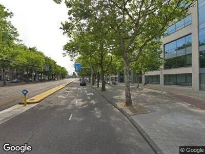 Politie naar Mr. Treublaan in Amsterdam vanwege ongeval met letsel