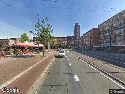 Ambulance naar Mercatorplein in Amsterdam