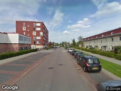 Ambulance naar Baron De Coubertinlaan in Hoofddorp
