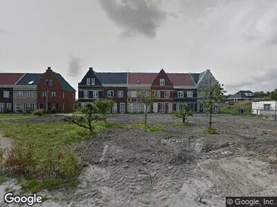Ambulance naar Nanne Jansz. Grootstraat in Andijk