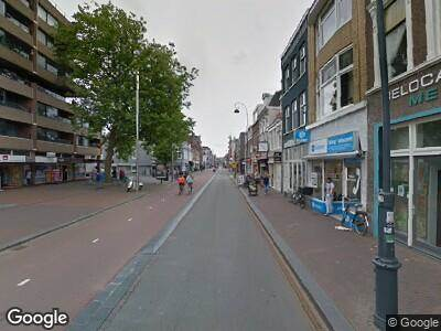 Ambulance naar Kruisweg in Haarlem vanwege ongeval met letsel