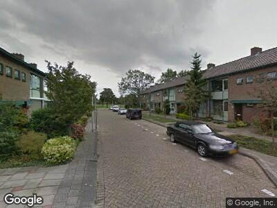 Ambulance naar Jacq. Perkstraat in Spijkenisse