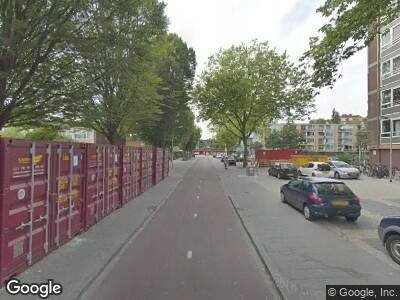 Ambulance naar Clusiusstraat in Zaandam vanwege verkeersongeval