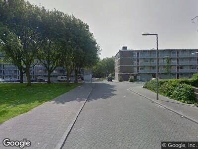 Ambulance naar De Klerkstraat in Rotterdam