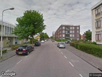 Ambulance naar De la Reijstraat in Ridderkerk