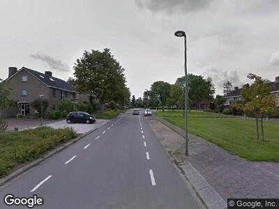 Brandweer naar Kastanjelaan in Dordrecht