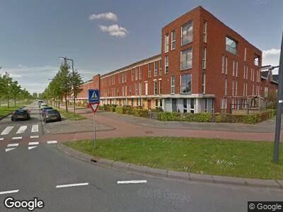 Brandweer naar Laan van Magisch Realisme in Rotterdam vanwege gebouwbrand