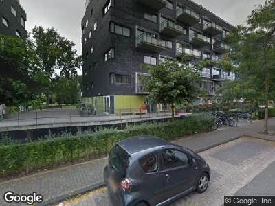 Brandweer naar Liviuslaan in Leiden