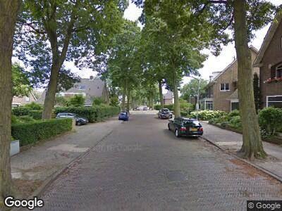 Ambulance naar Prins Mauritslaan in Haarlem