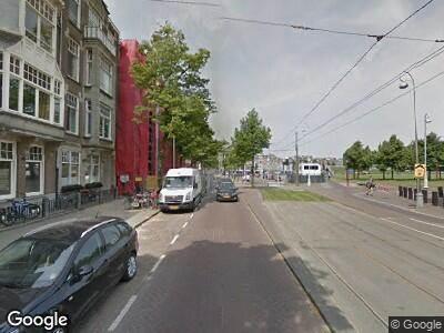 Brandweer naar Gabriël Metsustraat in Amsterdam