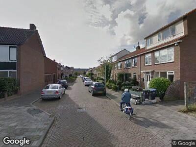 Ambulance naar Willems Fopsstraat in Hellevoetsluis