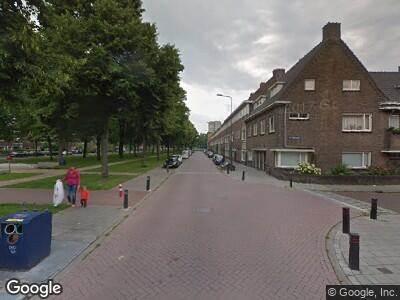 Ambulance naar Willem van Nassaulaan in 's-Hertogenbosch