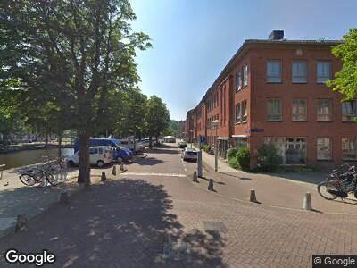 Ambulance naar De Rijpgracht in Amsterdam