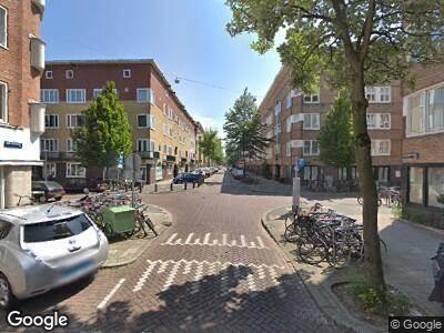 Brandweer naar Van Speijkstraat in Amsterdam