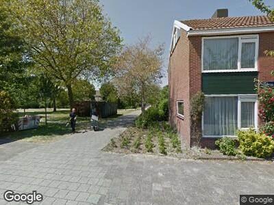 Ambulance naar Fröbelstraat in Haarlem