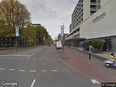 Ambulance naar Vestdijk in Eindhoven