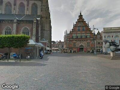 Ambulance naar Grote Markt in Haarlem