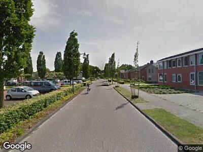 Brandweer naar Westerstraat in Roden