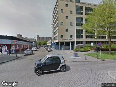 Politie naar Henk Speksnijderstraat in Rotterdam