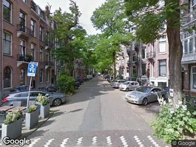 Brandweer naar Van Breestraat in Amsterdam