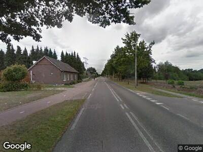 Ambulance naar Napoleonsbaan Noord in Baarlo