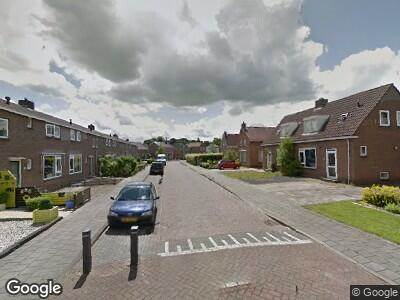 Brandweer naar Geert van der Zwaagstrjitte in Gorredijk